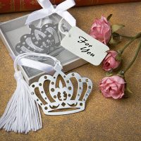 Crown design bookmark favorsCrown design bookmark favors