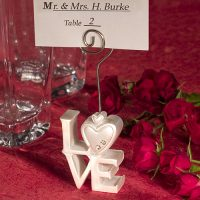 LOVE Design Place Card HoldersLOVE Design Place Card Holders