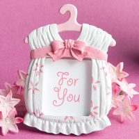 Cute baby themed photo frame favors girlCute baby themed photo frame favors girl