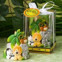 Jungle Critters Collection candle favorsJungle Critters Collection candle favors