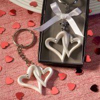 interlocking Heart Design Favor Saver Key chainsinterlocking Heart Design Favor Saver Key chains