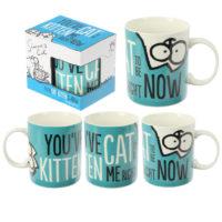 Collectable New Bone China Mug - Simon's Cat Kitten Slogan