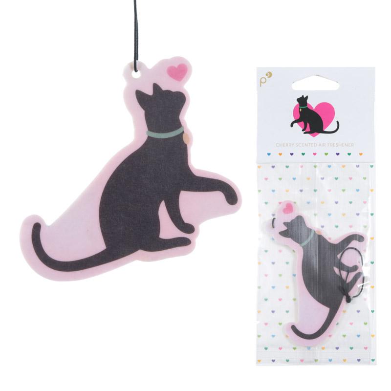 Cute Cat Design Cherry Fragranced Air Freshener