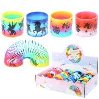 Fun Novelty Kids Rainbow Unicorn Spring