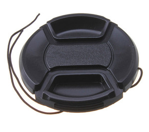 Untitled document Overview : 1) This front lens cap can snap onto the front of the lens with a spring type retainer ring