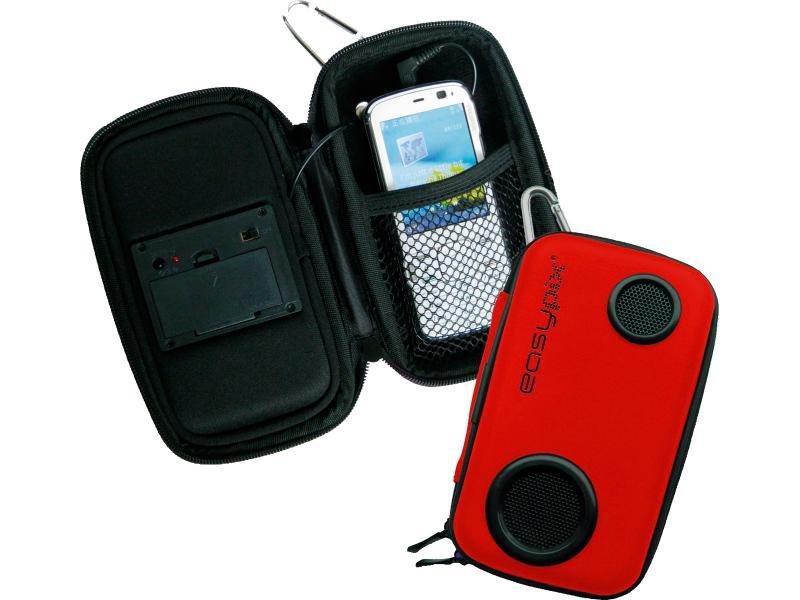 Untitled document    Για Iphone/Mp3/Mp4* Στερεά Θήκη με ενσωματωμένο ηχείο* Μοναδικός ήχος* Δουλεύει με 2 x μπαταρίες AA (δεν συμπεριλαμβάνονται)
