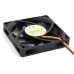 Untitled document    Fan 60mm 3P - 63024Dimensions: 60 (L) x60 (W) x15 (H) MMBearing Type: SleeveRated voltage: 12VDCCurrent Rating: 0.03Speed: 3