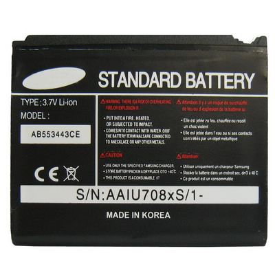 Untitled document   Battery for Samsung U700