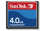 SanDisk 4GB CompactFlash Card