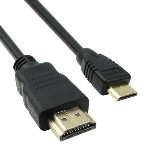 Cable DeTech HDMI – HDMI mini