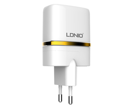 Network charger LDNIO DL-АC52 DC12-24V 5V/2