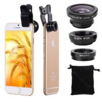 macro and fish eye lens 17251 accessories for iphone universal lens for mobile phone micro