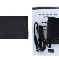 with power supply 18263 cable/connectors adap. splitter hdmi hdmi
